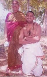 Amma with guruji