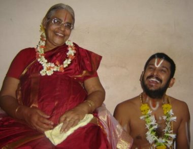 Gurujiamma and Guruji